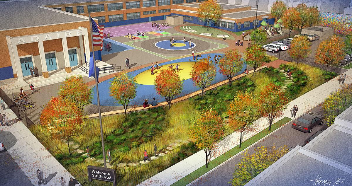 Alexander Adaire Schoolyard Revitalization