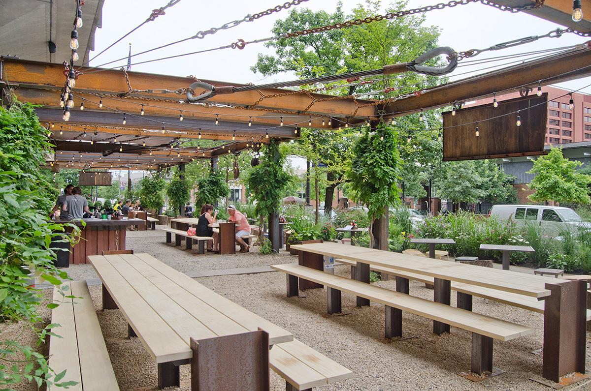 Independence Beer Garden Outdoor Restaurant