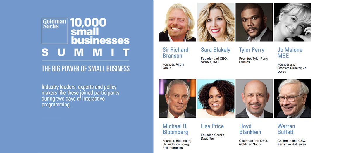 10,000 Small Businesses Summit: The Big Power of Small Business